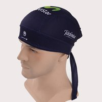 Wholesale Movistar Cycling Cap - Wholesale-2015 movistar pirate scarf outdoor scarf Cycling Hurtan discharge method breathable sports riding wear best jersey free shipping
