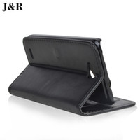 Wholesale Cover Zte Grand X - Wholesale-Original J&R Brand Leather Flip case for ZTE Grand X V987 v967s N980 phone cover, with 2 card slots and pocket slot ,free ship