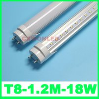 Wholesale T8 Lights Discounted - T8 4ft led tube light 2016 new prices big discount 1800LM 1200mm T8 18w white warm white AC85-265V CE ROHS FCC UL SAA