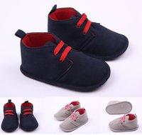 Wholesale Infant Shoes Wholesale China - 2015 NEW!cheap children casual shoes!soft toddler shoes,blue gray baby floor shoes,infant walking shoes,china unisex shoes.6pairs 12 pcs.ZH