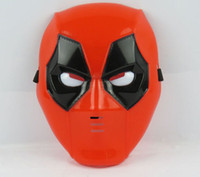 Masques De Pvc De Super-héros Pas Cher-Deadpool vacances partie du film X-men LED Masque Halloween Boy Enfants EMS Superhero dessin animé fille deadpool LED masques de luminescence B001