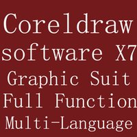 Wholesale Corel Draw Corel CorelDRAW Graphic Design Software Graphic Suit X7 Version Bit Full Function Support For Multi Language