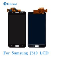 Wholesale Tft Lcd Screen Display Panel - TFT LCD For Samsung Galaxy J5 2016 J510 J510FN J510F J510Y J510M AAA Quality Screen Display Touch Digitizer Repair Parts Replacement