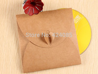 Wholesale x Kraft Paper CD Bags Cases DVD Cover Sleeves Packaging Packing Envelopes x13cm Colors