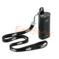 Wholesale E Cig Lanyard Pouches - Original Ismoka eleaf istick leather case carry vape cases e cig pouch large with ego lanyard ring for istick 20w 30w battery mod kits