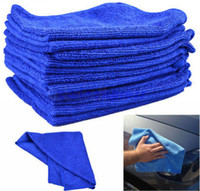 Wholesale House Car Wash - 10X Microfiber Cleaning Towel Auto Car Home House Window Wash Dry Cloth 40x40cm M06003