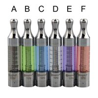 Wholesale Atomizer Changeable Coil Ego - Newest Upgraded dual coil Kanger T3D clearomizer changeable metal drip tip t3d atomizers fit for evod vision spinner 2 ego twist
