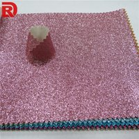 Wholesale Fiberglass Wall Coverings - Glitter wallpaper for room colorful wall covering and green abstract wallpaper