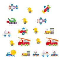Removable sports cars wallpaper - Cartoon Cars Wall Stickers for boys Room Decorative Wall Decals Home Decoration Wall Art Poster Truck Airplane Duck Christmas Wallpaper Kid