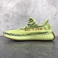 Wholesale Body Dark - 2017 Wholesale Boost 350 V2 Cream White Zebra Dark Green Pirate Black Turtle Dove Men Women Running Shoes Kanye West 350 V1 Boost With Box