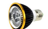 Wholesale led 3watt - 3W Par20 LED Spot Lights Lampada E27 3leds Dimmable 110V 220V Spotlights Bulbs 3Watt for Indoor Bedroom Living Room luces led Warm white