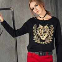 Yes origin european - The new range of European origin station tiger head embroidery diamond hedging sweater female long sleeved jacket XE16