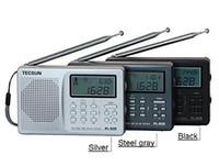 tx antenne großhandel-Großhandels-Freies Verschiffen Tecsun PL-606 Digital-PLL beweglicher AM / FM LW / MW / SW-Multiband Radioempfänger mit DSP