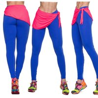 Wholesale High Waisted Tight Pants - 2015 Women's Tights Leggings gym leggings sports high waisted Leggings Sportswear Leisure Legging sport Pants 6 color S394M