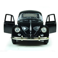 Wholesale Miniature Sound Cars - 1:32 Free Shipping Pull Back Sound Electronic Flashing Pull Back Classic Antique Miniature De Carro Model Cars Juguetes