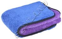 Wholesale Detailing Waxing Polishing - 40cmx40cm 720GSM Thick Plush Microfiber Towel Car Cleaning Cloths Drying towel auto detailing Wax cloths Buffing Polishing Towels