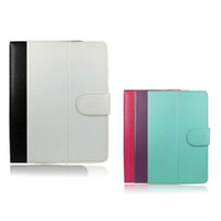 S5Q 7 pouces coloré Leather Case Universal Cover Stand for 7