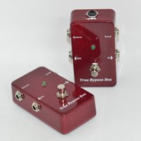 Compra Loop Switch-true bypass Looper Pedal Chitarra Effetti Looper Switcher vera chitarra bypass Peda lampeggiante interruttore Loop rosso