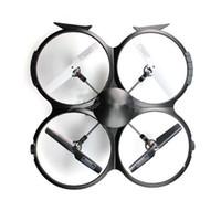 modlu rotor toptan satış-2015 Sıcak satış Yeni UDI U818A 2.4 GHz 4 CH 6 Eksen Gyro RC Quadcopter Drone Kamera ile RTF Modu 2 on 12 ay için memorygeek garanti