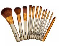 Wholesale Set Up Boxes Wholesale - Hot Naked 3 Professional 12 PCS Makeup brush Cosmetic Facial Make-up Brush Tools Makeup Brushes Set Kit With Retail Box