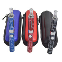 Wholesale Evod Mt3 Kit Metal - MAP EVOD MT3 Kit with 2.4ml MT3 Atomizer EVOD Battery 650 900 1100mah Electronic Cigarettes in Zipper Case EVOD Zipper Kit 0212041