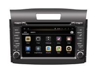Wholesale Dvd Gps Navigation Crv - Android 5.1 Car DVD Player GPS Navigation for Honda CRV 2012 2013 2014 2015 with Radio Bluetooth USB Audio Video Stereo WIFI