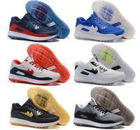 Wholesale Golf D - Hot Sale 2017 Lunar Control 4 Golf Shoes Medium Air Zoom 90 IT Sports Shoes Men Women Sneakers ize US 5.5--12