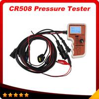Wholesale Rail Code - CR508 Common Rail Pressure Tester and Simulator by Rail Pressure Tester for BOSCH for Denso for Delphi Free Shipping