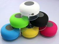 altavoz bluetooth venda por atacado-Alta qualidade Mini Altavoz Bluetooth speaker Portátil Sem Fio À Prova D 'Água Do Chuveiro Do Carro Chamada Handsfree bluetooth-speaker com Ventosa Mic