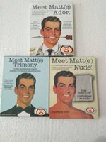 göz paleti mat toptan satış-Yeni Varış balsamı 3 Stil Karşılamak Matt (e) Trimony Mat Çıplak Göz Farı Paleti 9 Renk maquiagem Paleti Marka Makyaj Kozmetik