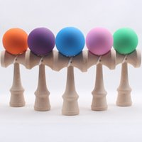 Wholesale Japanese Fashion Wholesale Free Shipping - 2015 Fashion Funny Japanese Traditional Wood Game Toy Kendama Ball Education Toy Gift New Free shipping