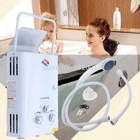 Wholesale Gas Tankless Water - Portable 6L LPG Propane Gas Tankless Instant Hot Water Heater Instant Boiler CE A3