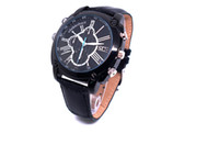 Wholesale Water Proof Watch Camera - 1920*1080 Leather Strap Wristwatch Spy Hidden Cam Motion Detection 8GB 16GB 32GB Camera Watch Water proof