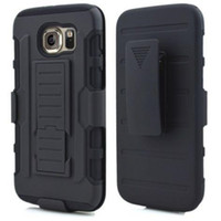 Wholesale S3 Retail Clip - robot case 3 in 1 cases with clips and retail package for iphone 6 iphone 6 plus samsung galaxy s3 s4 s5 s6 note 4 iphone 5s cellphone case