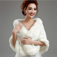 vestidos de dama de honra de inverno casacos venda por atacado-Boleros quentes para o vestido de casamento vestido de dama de honra jaqueta de casamento de inverno bolero jaquetas para vestidos de noite ocasião especial