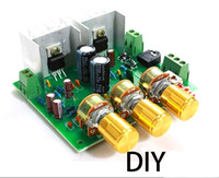 Wholesale Two channel W W TDA2030A hifi stereo amplifier AMP board DIY Kit