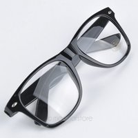 Wholesale geek glasses wholesale - Wholesale-Fashion New Summer Style Candy Color Glasses Unisex Clear Lens Nerd Geek Glasses Men Women Eyewear YY