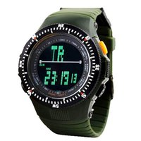 Wholesale Digital Watch Promotional - Promotional Brand SKMEI Men Military Silicone Watch Outdoor Sports Led Digital Watch 50M Waterproof Sports Wristwatch 0989