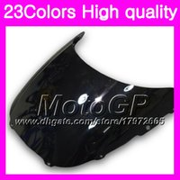 Wholesale Honda Cbr Rr 1988 - 23Colors Windscreen For HONDA CBR250RR 88 89 MC19 CBR250 RR CBR 250RR CBR 250 RR 1988 1989 Chrome Black GPear Smoke Windshield