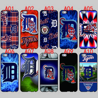 Wholesale Galaxy S3 Tiger - Detroit Tigers For iPhone 6 6S 7 Plus SE 5 5S 5C 4S iPod Touch 5 For Samsung Galaxy S6 Edge S5 S4 S3 mini Note 5 4 3 phone cases