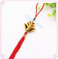 "Wholesale China Curtains Wholesale - 10pcs The new ""China fu knot pendant ornaments pepper on the spring festival craft celebrations Home Furnishing special gift ornaments"