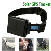 Wholesale Sheep Small - 5pcs lot smallest mini solar powered gps tracker for Pets sheep cow Cattle animal with sos alarm Anti theif remove alarm V26 Ann