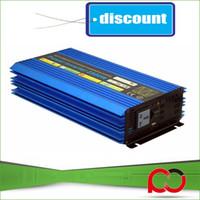 Wholesale Solar Wind Power Inverter - 2500W 12V 24VDC to 110V 220VAC Off Grid Pure Sine Wave Single Phase Solar or Wind Power Inverter, Surge Power 5000W