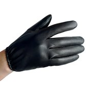 Wholesale Soft Leather Driving Gloves - Wholesale-New Real Soft Leather Men's Motorcycles Driving Black Brown Gloves Lover Style Basic Handmade Free Shipping