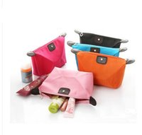 Wholesale Clutch Bag Wholesale Prices - factory price ! Lady MakeUp Pouch Cosmetic Make Up Bag Clutch Hanging Organizer Casual Purse Toiletries Travel Kit Jewelryfree shipping DHL