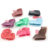 Wholesale Gel Nails Kits For Sale - Patch Nail False Colors Gel Nails 5sets lot 500pcs set False Nails Accessories Nail Kits For Sale