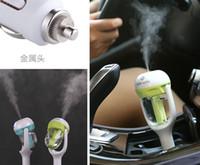 atomizadores rohs al por mayor-Purificador del humectador del aire del enchufe del coche de Nanum, humectador ultrasónico del aceite esencial del vehículo Difusor de la fragancia del coche de la niebla del aroma DHL 20 PC / porción