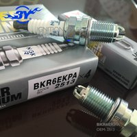 Wholesale Ignition Pack - Brand (4X) NGK BKR6EKPA   2513 VX Platinum 2513 BKR6EKPA 2513 Spark Plug 3 Pack FR7DC+ RC8DMC RC8TYC