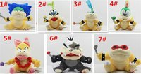 60pcs Cartoon Super Mario giocattoli di peluche Wendy / Larry / Lemmy / Ludwing / O. Koopa peluche Sanei 8