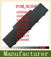 Wholesale D725 Acer - Free shipping- [Special Price] New 6 cells laptop battery for Acer Aspire 5732Z 4732 4732Z ,EMACHINE D525 D725, AS0